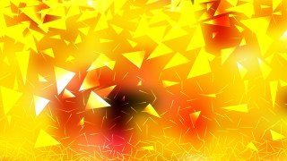 Abstract Red and Yellow Triangular Background Illustrator