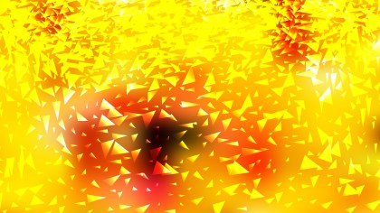 Red and Yellow Triangle Background Vector Illustration