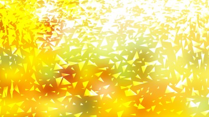 Abstract Yellow and White Random Triangle Background