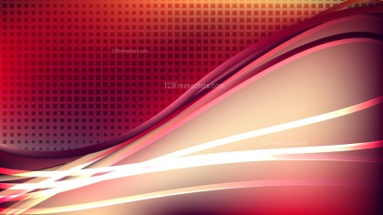 Abstract Beige and Red Background Design