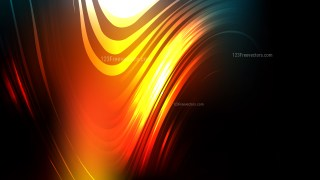 Abstract Black Red and Yellow Background Illustrator