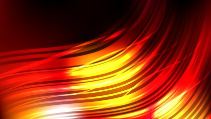 Modern Abstract Black Red and Yellow Background
