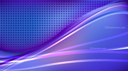Abstract Blue and Purple Background Vector