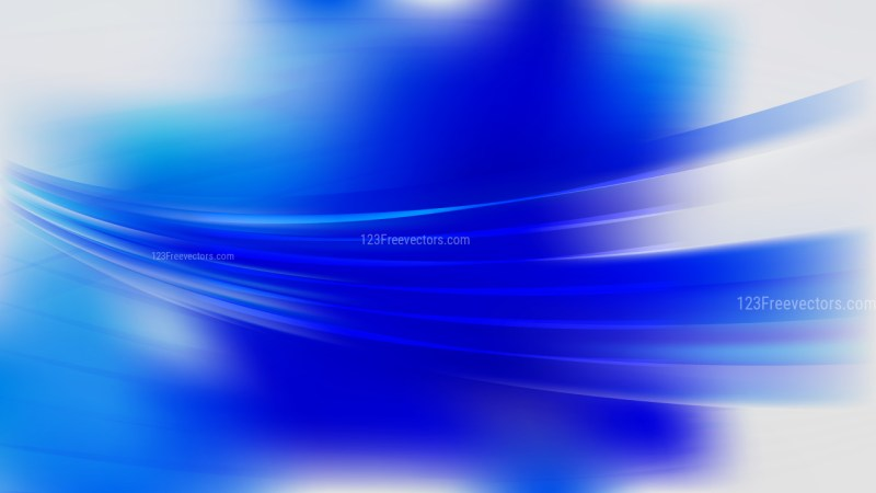 Modern Abstract Blue and White Background