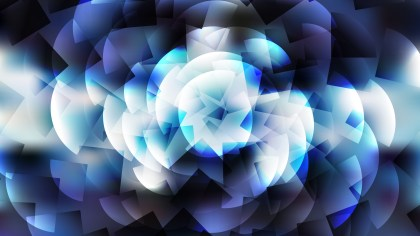 Abstract Blue Black and White Background Graphic Design