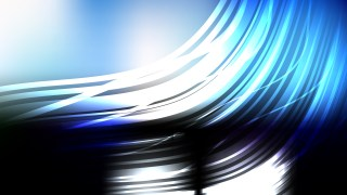 Abstract Blue Black and White Background Vector Graphic