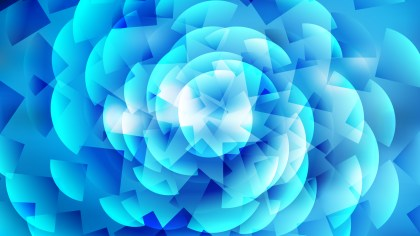 Abstract Bright Blue Background Illustrator