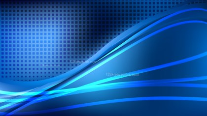 Abstract Cool Blue Background Graphic Design