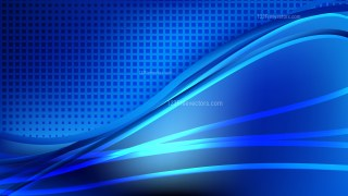 Modern Abstract Cool Blue Background