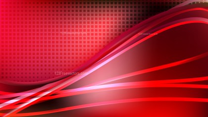 Cool Red Abstract Background Illustrator