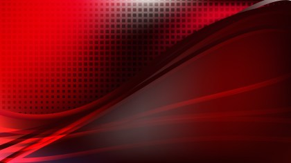 Modern Abstract Cool Red Background