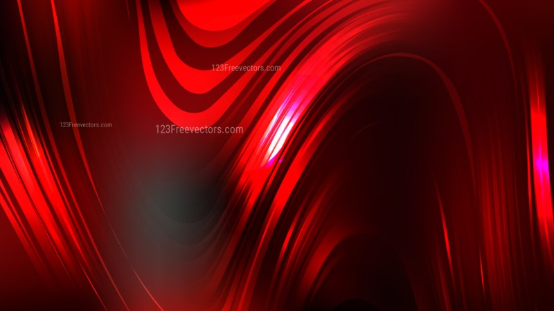 Cool Red Abstract Background Vector