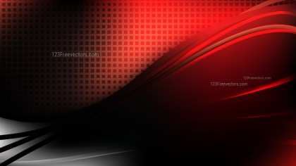 Cool Red Abstract Background Vector Graphic