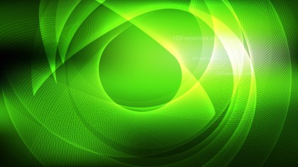 Abstract Green and Black Background Graphic Design