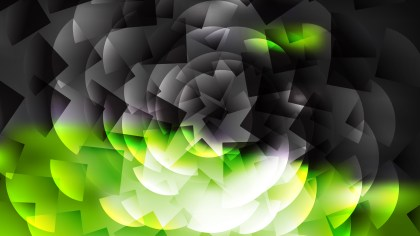Abstract Green Black and White Background