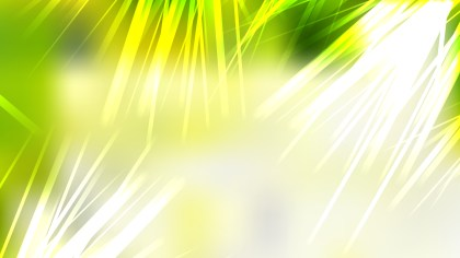 Modern Abstract Green Yellow and White Background Design