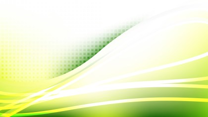 Green Yellow and White Abstract Background Vector