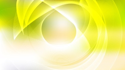 Abstract Green Yellow and White Background