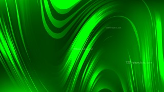 Abstract Neon Green Graphic Background