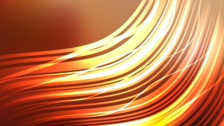 Orange Abstract Background Vector Graphic