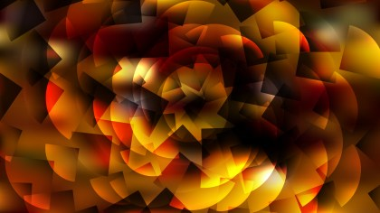 Orange and Black Abstract Background Vector Graphic
