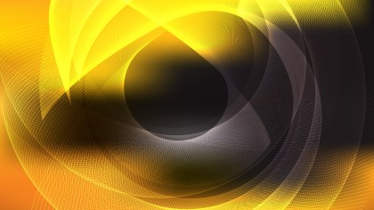 Modern Abstract Orange and Black Background Graphic