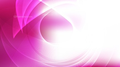 Modern Abstract Pink and White Background