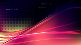 Modern Abstract Pink Yellow and Black Background