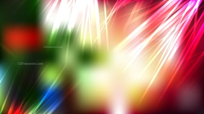 Abstract Red and Green Graphic Background