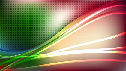 Abstract Red and Green Background Graphic