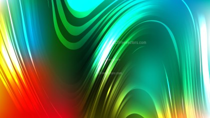 Red and Green Abstract Background Illustrator