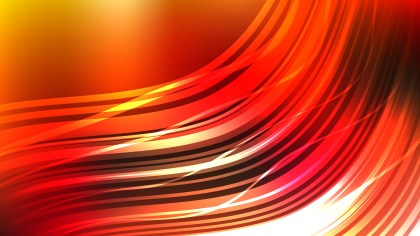 Abstract Red and Orange Background Graphic