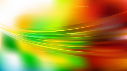 Red Yellow and Green Abstract Background
