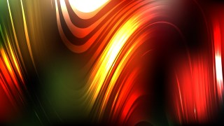 Abstract Red Yellow and Green Background Vector Graphic