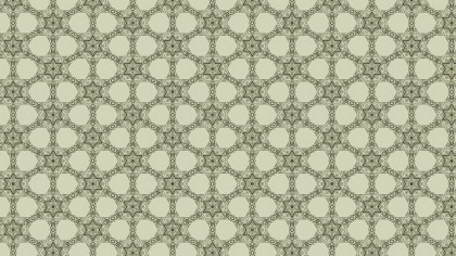Beige Vintage Floral Pattern Background