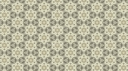 Beige Vintage Ornamental Pattern Background