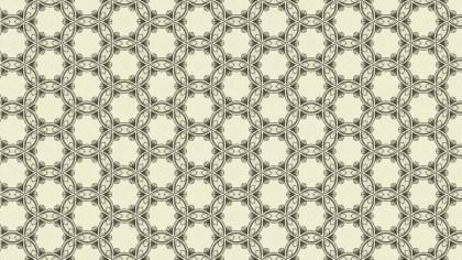 Beige Vintage Ornamental Seamless Pattern Background Design