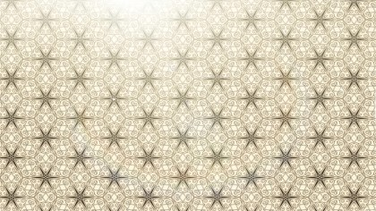 Beige Vintage Flower Background Pattern