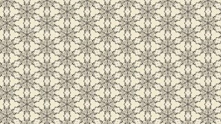 Beige Vintage Ornamental Seamless Pattern Wallpaper Template