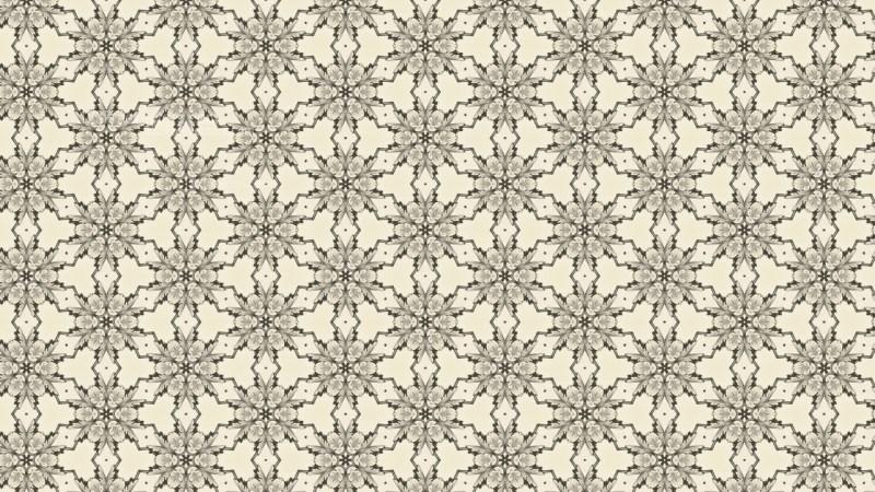 Beige Vintage Ornamental Seamless Pattern Wallpaper Template