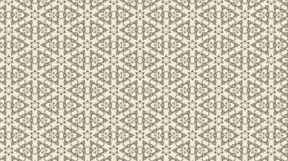 Beige Vintage Decorative Ornament Wallpaper Pattern
