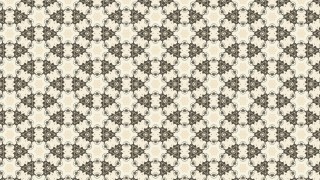Beige Vintage Floral Ornament Wallpaper Pattern Graphic