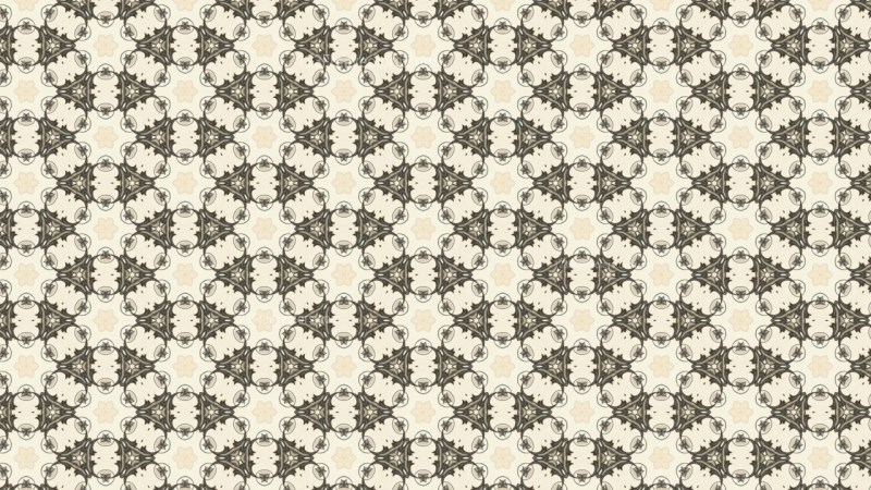 Beige Vintage Floral Ornament Wallpaper Pattern Graphic