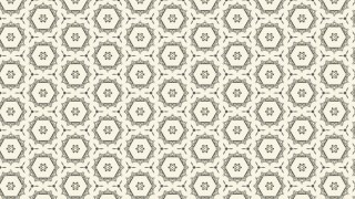 Beige Vintage Flower Wallpaper Pattern