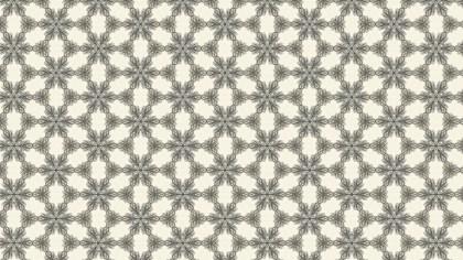 Beige Vintage Ornament Wallpaper Pattern Design