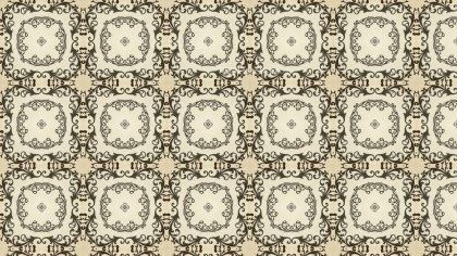 Ornamental Vintage Pattern Background Design