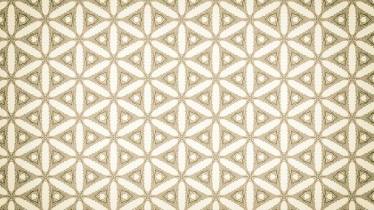 Beige Ornamental Vintage Background Pattern