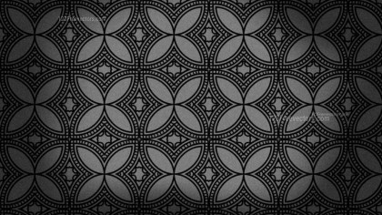 Black Vintage Ornament Background Pattern Image