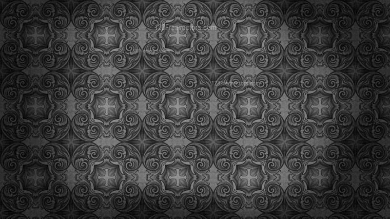 Vintage Floral Seamless Wallpaper Pattern Template