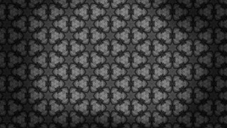 Black Vintage Seamless Wallpaper Background